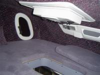 Prodloužená spací nástavba MAN - interiér